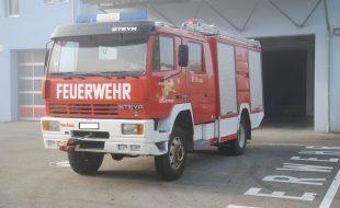Rüstlöschfahrzeug RLF 2000 Steyr 13S23 Allrad