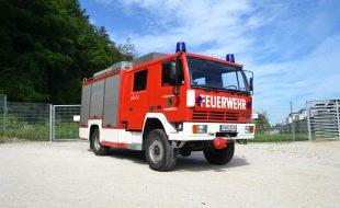 Löschfahrzeug mit Bergeausrüstung (LFB-A2) Steyr 10S18/L37/4x4 Single