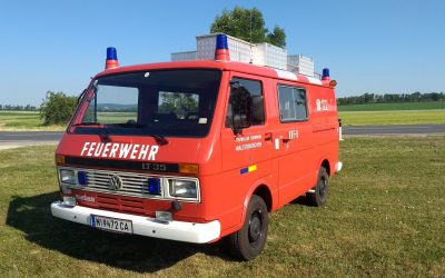 Kleinrüstfahrzeug KRF - VW  LT35