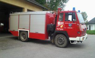Tanklöschfahrzeug TLF 4000 Steyr 1291