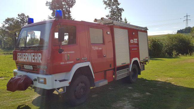TLFA 2000 4x4 , Steyr mit Rosenbauer Aufbau