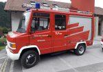 Tanklöschfahrzeug - Mercedes-Benz 814 D (BJ 85)