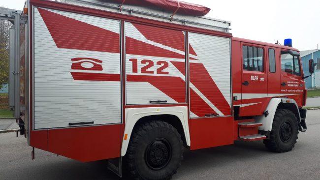 Rüstlöschfahrzeug RLFA 2000 Rosenbauer 1120AF/36 4x4 Single