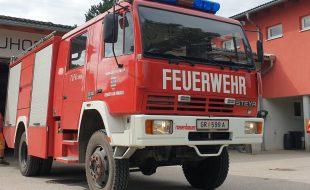 Tanklöschfahrzeug Steyr 13S230 TLFA 2000 4x4