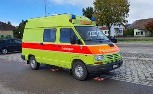 Sanitäts-Fahrzeug 4x4 - Renault Trafic 4x4