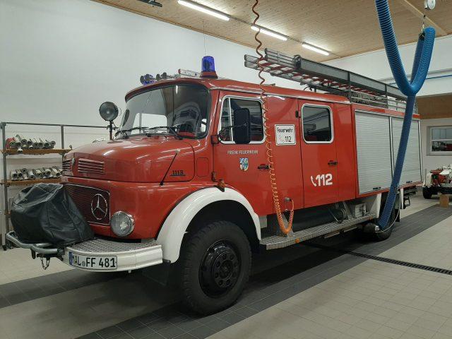 Mercedes-Benz Rundhauber 1113 LF16/TS