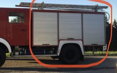 Tanklöschfahrzeug TLF 4000 Mercedes 1222AF