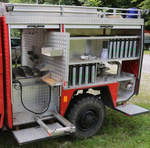 Aufbau von Fa. Marte für Feuerwehrfahrzeug