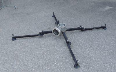 Tragegestell für Wasserwerfer