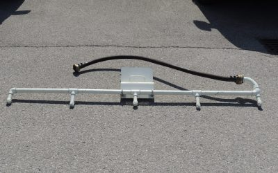 Hochdruck-Strassenwaschanlage für Tanklöschfahrzeuge oder Rüstlöschfahrzeuge