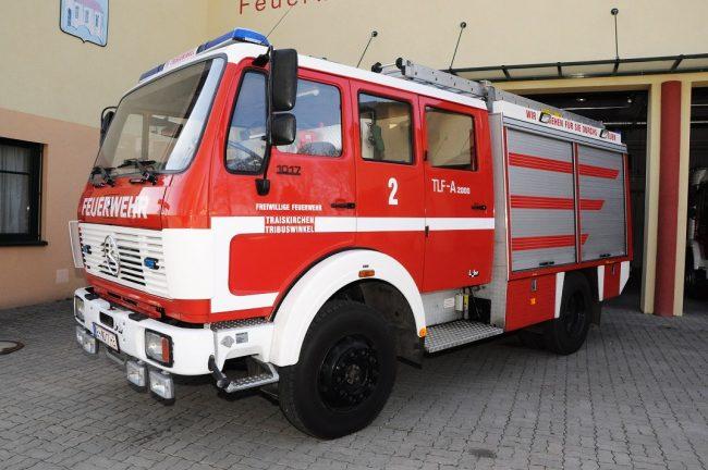 Tanklöschfahrzeug TLF-A 2000 Merzedes-Benz 1017 AF