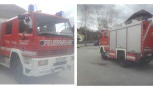 Tanklöschfahrzeug Steyr 13S23 4x4 Allrad