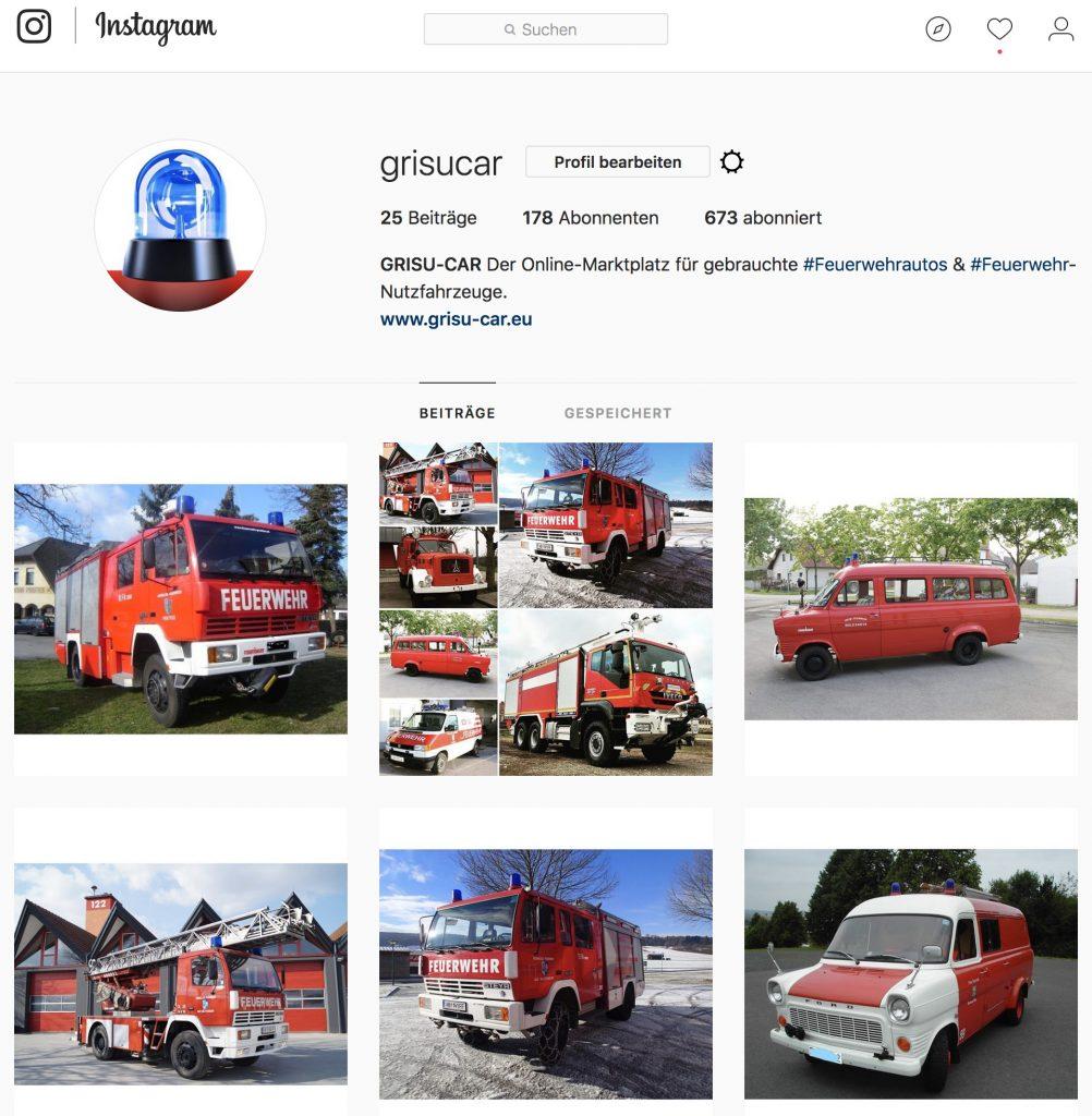 GRISU-CAR auf Instagram