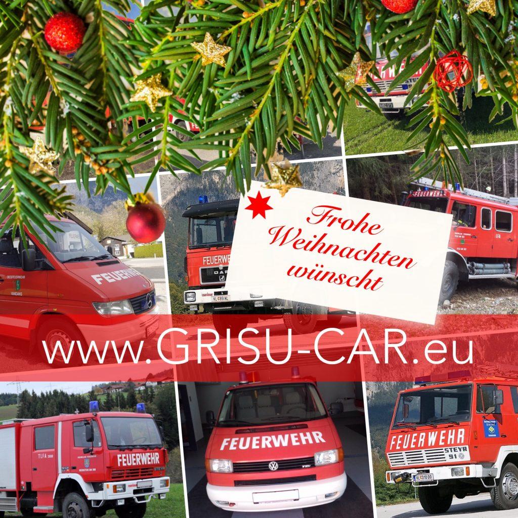 Frohe Weihnachten wünscht www.GRISU-CAR.eu