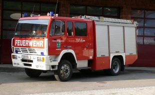Tanklöschfahrzeug mit Allradantrieb - Steyr TLF-A 2000