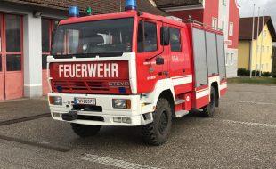 Steyr 10S18/L37/4x4 Single Aufbau Fa. Rosenbauer