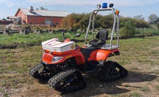 ATV 4x4 mit Raupensatz