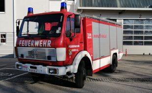 Tanklöschfahrzeug TLF-A 4000/400 MB 1222 AF 36