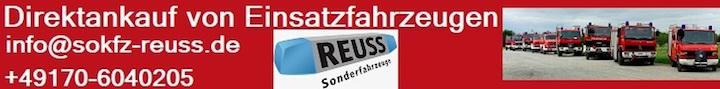 Reuss Sonderfahrzeuge - Direktankauf von Einsatzfahrzeugen