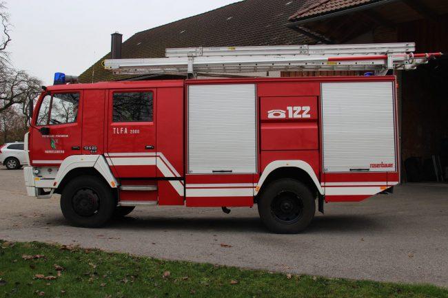 Tanklöschfahrzeug TLF 2000 Steyr 13S23 FF Aufbau Fa. Rosenbauer
