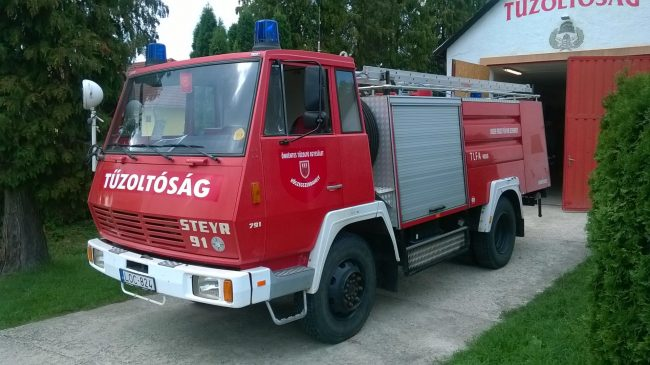 TLFA 4000, Steyr 791 4×4 Allrad – Aufbau Rosenbauer