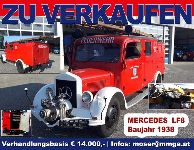 Baujahr 1938 Feuerwehr Oldtimer