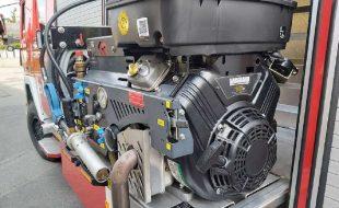 Hochdruck-Löschgerät UHPS mit 300 Liter Wassertank