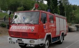 Feuerwehrtanklöschfahrzeug TLF- A 4000 Steyr 790