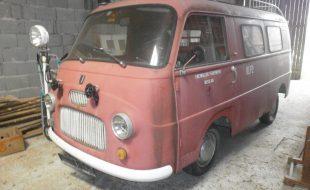 Kleinlöschfahrzeug mit Pumpe Fiat 1100 T2