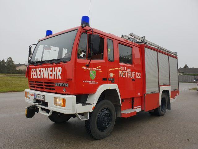 RLFA 2000, Steyr 13S210 4x4 Allrad